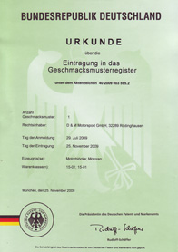 Urkunde_Motoren