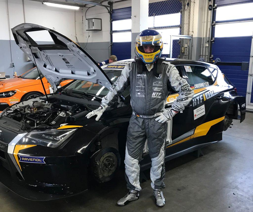 Marcel Obermeyer vom D&M Motorsport Racing Team und HTF-Motorsport beim TCR Test in Oschersleben