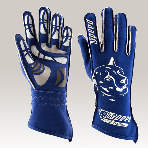 Speed Handschuhe Melbourne G-2 blau-weiß