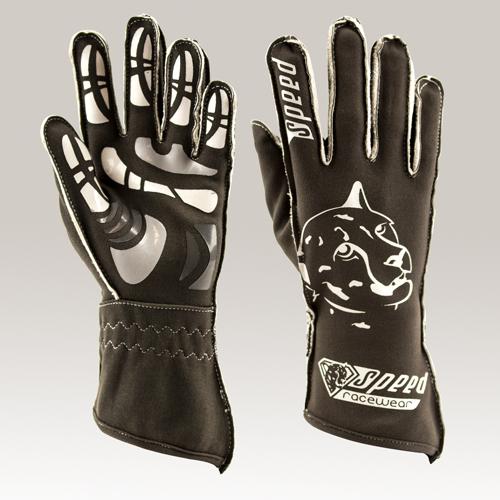 Speed Handschuhe Melbourne G-2 grau-weiß