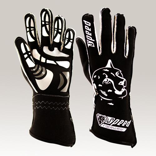 Speed Handschuhe Melbourne G-2 schwarz-weiß