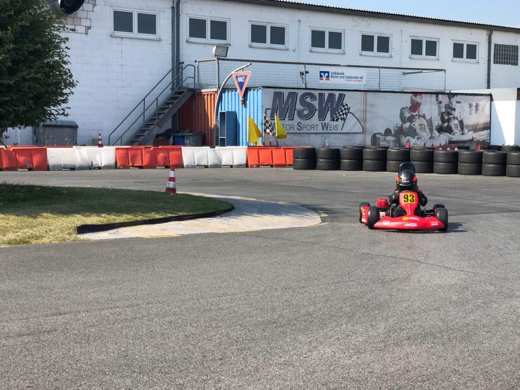 Max Obermeyer Kartsport D&M Motorsport Racing 50