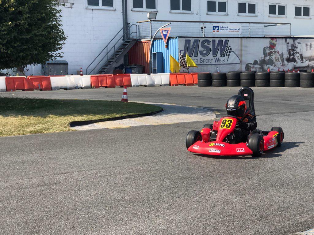 Max Obermeyer Kartsport D&M Motorsport Racing