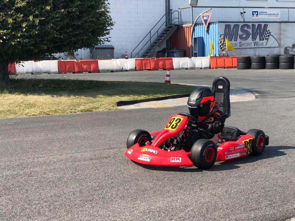 Max Obermeyer Kartsport D&M Motorsport Racing 49