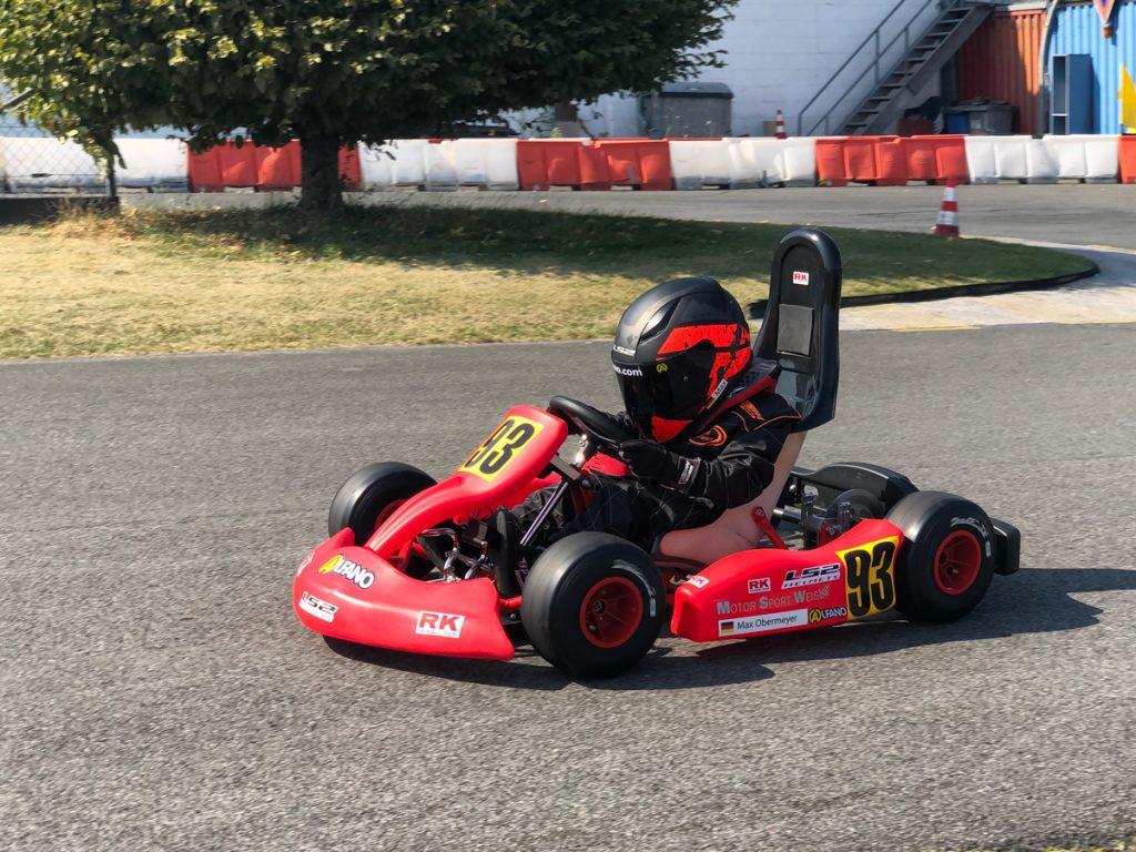 Max Obermeyer Kartsport D&M Motorsport Racing 48