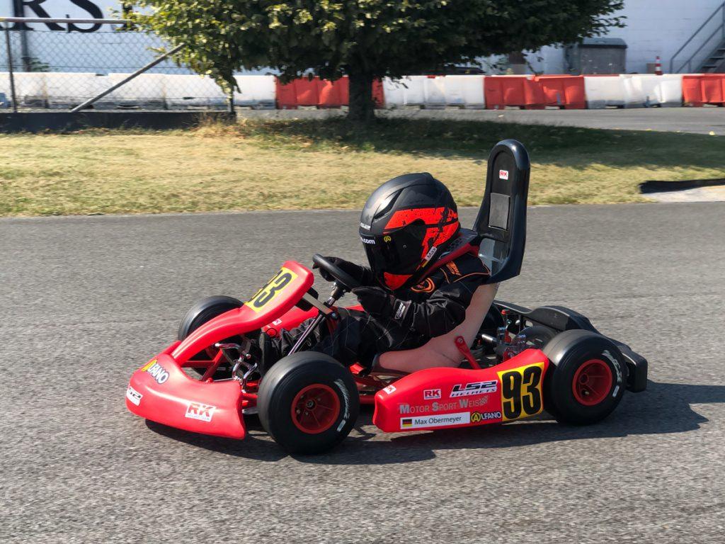 Max Obermeyer Kartsport D&M Motorsport Racing 47