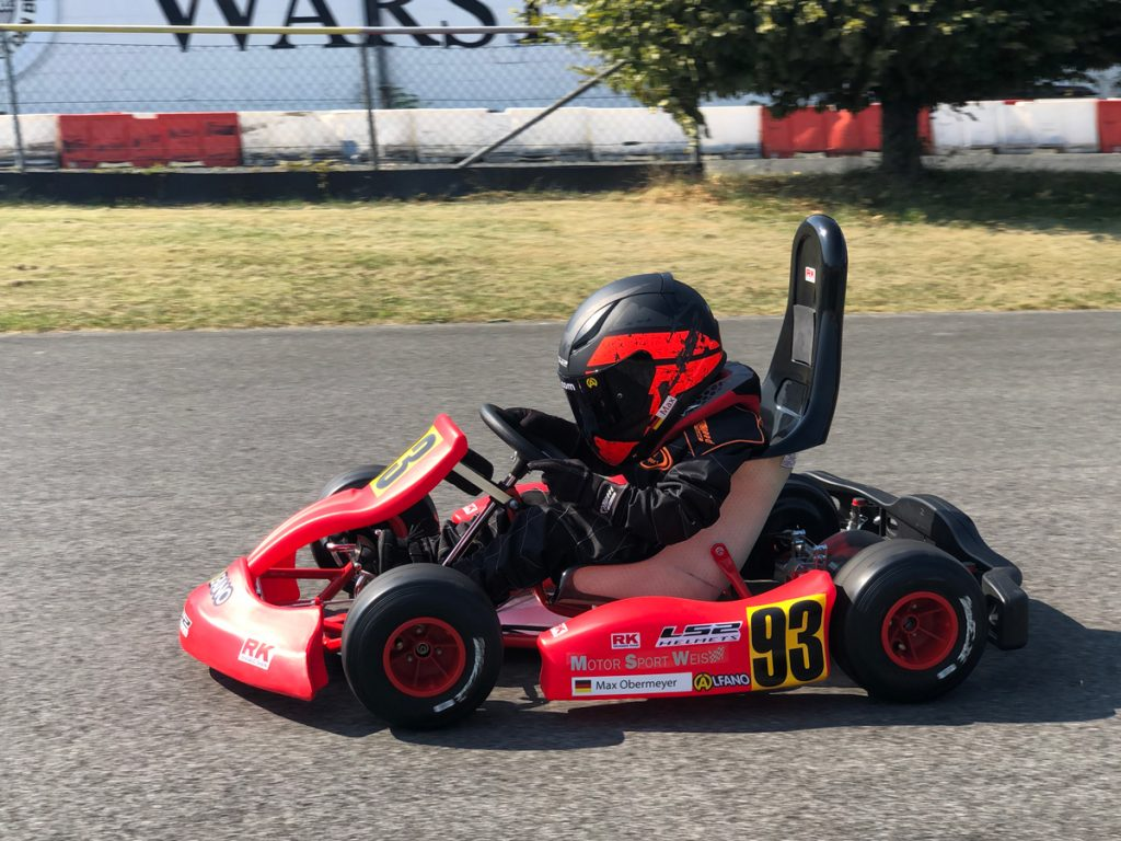 Max Obermeyer Kartsport D&M Motorsport Racing 46