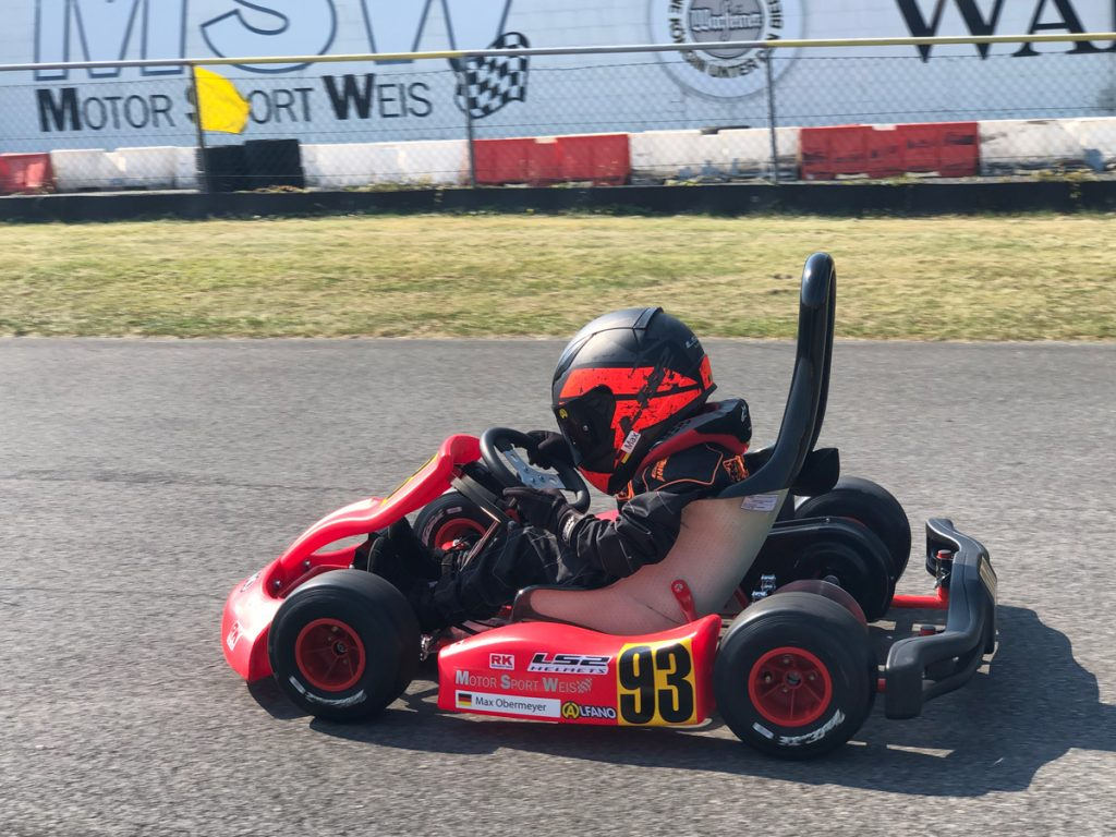 Max Obermeyer Kartsport D&M Motorsport Racing 45