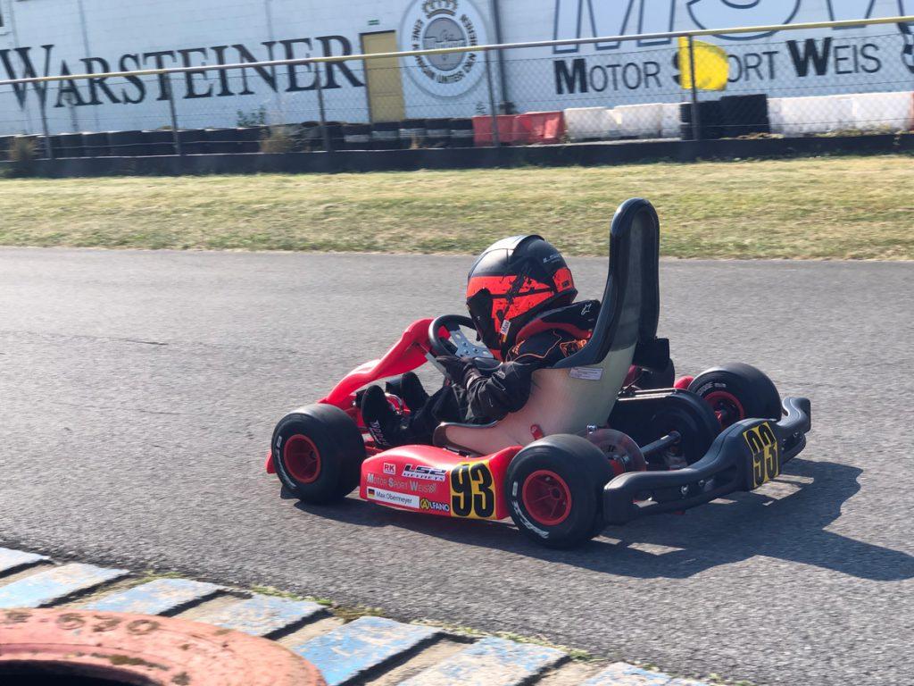 Max Obermeyer Kartsport D&M Motorsport Racing 44