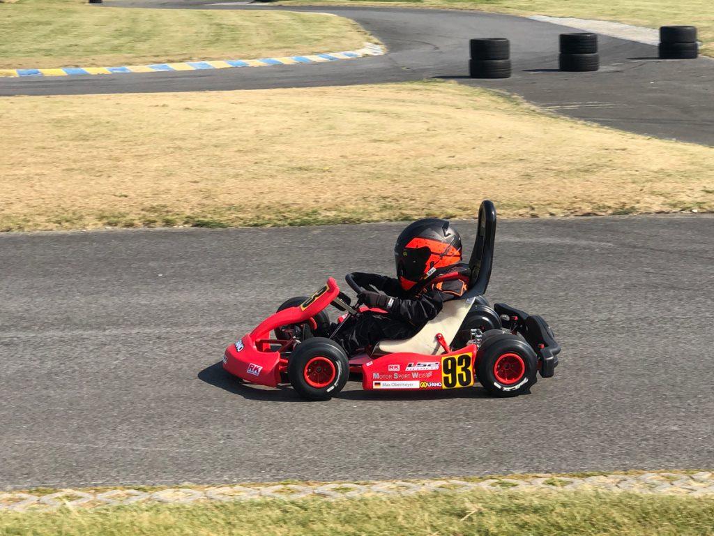 Max Obermeyer Kartsport D&M Motorsport Racing 40