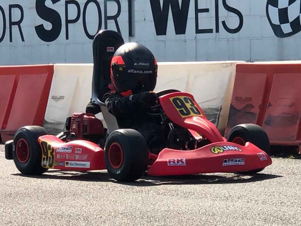 Max Obermeyer Kartsport D&M Motorsport Racing 32