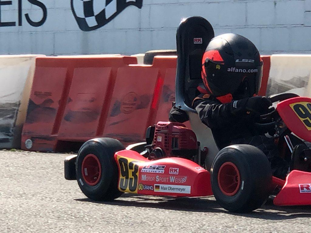 Max Obermeyer Kartsport D&M Motorsport Racing 31