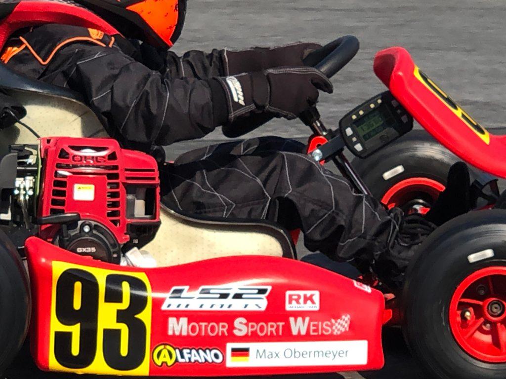 Max Obermeyer Kartsport D&M Motorsport Racing 28