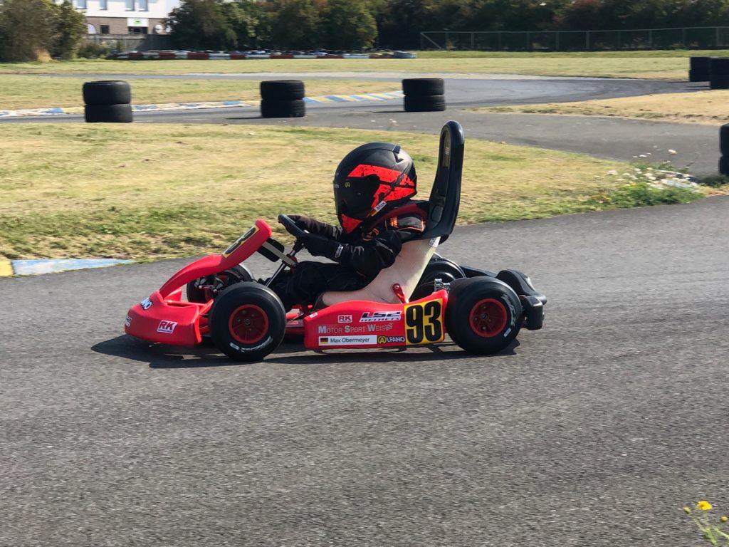 Max Obermeyer Kartsport D&M Motorsport Racing 22