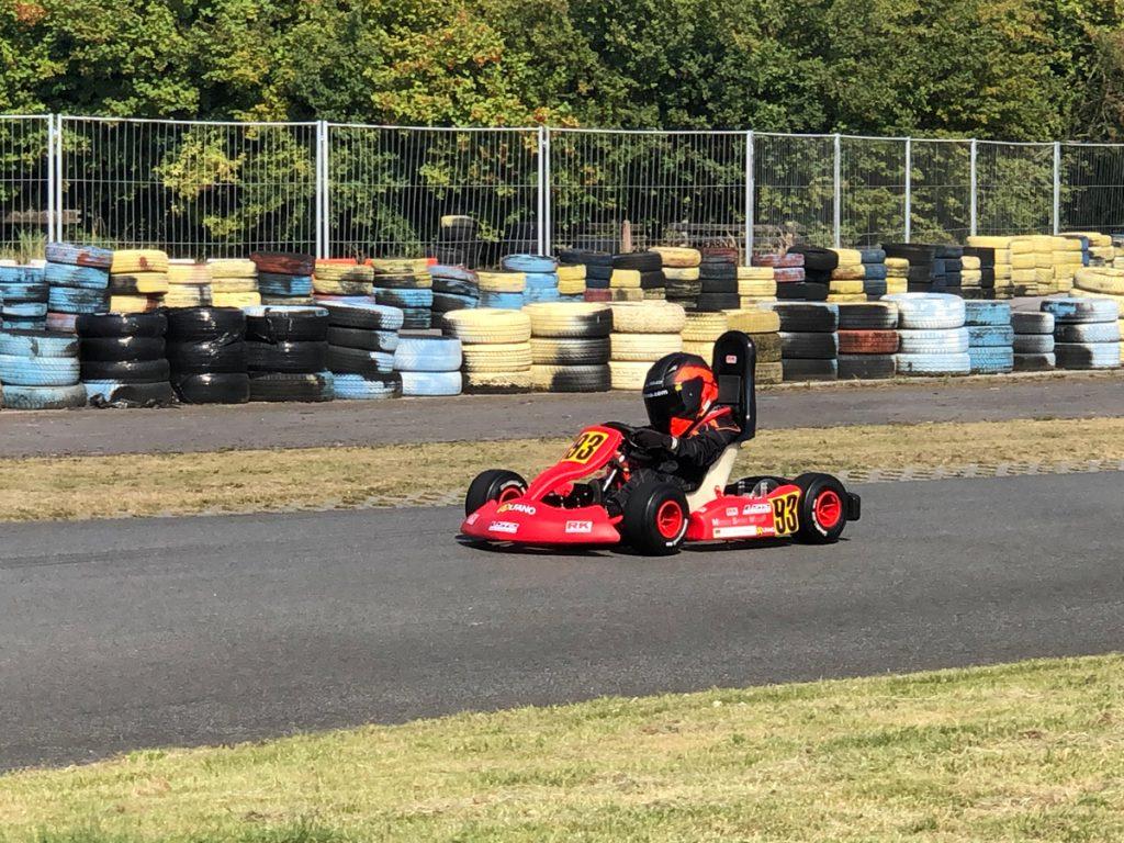 Max Obermeyer Kartsport D&M Motorsport Racing 20