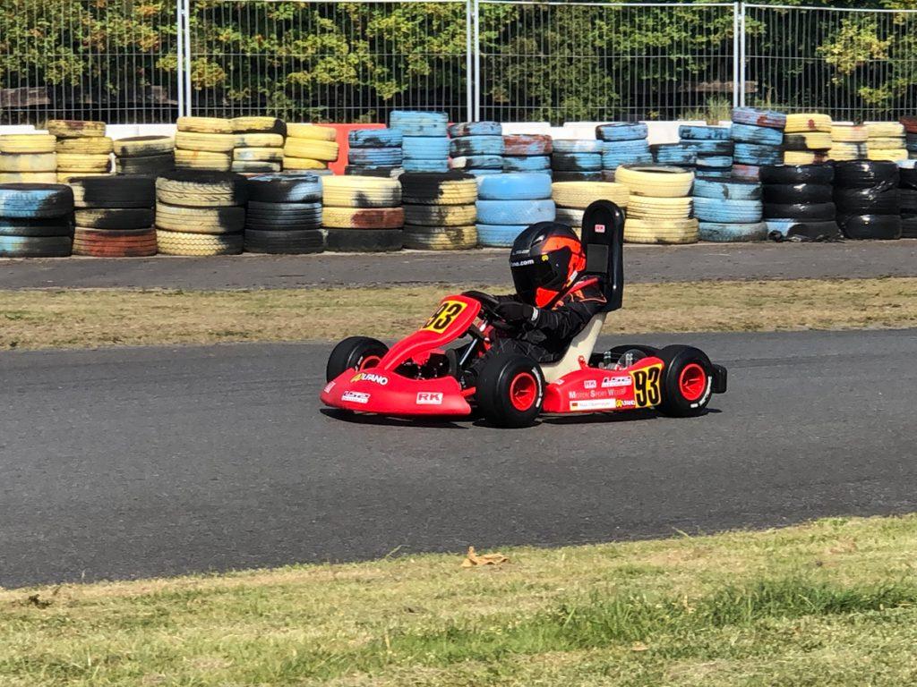 Max Obermeyer Kartsport D&M Motorsport Racing 18