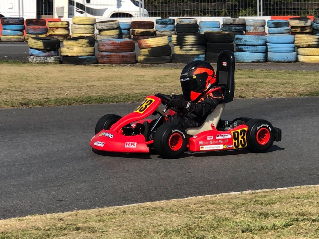 Max Obermeyer Kartsport D&M Motorsport Racing 17