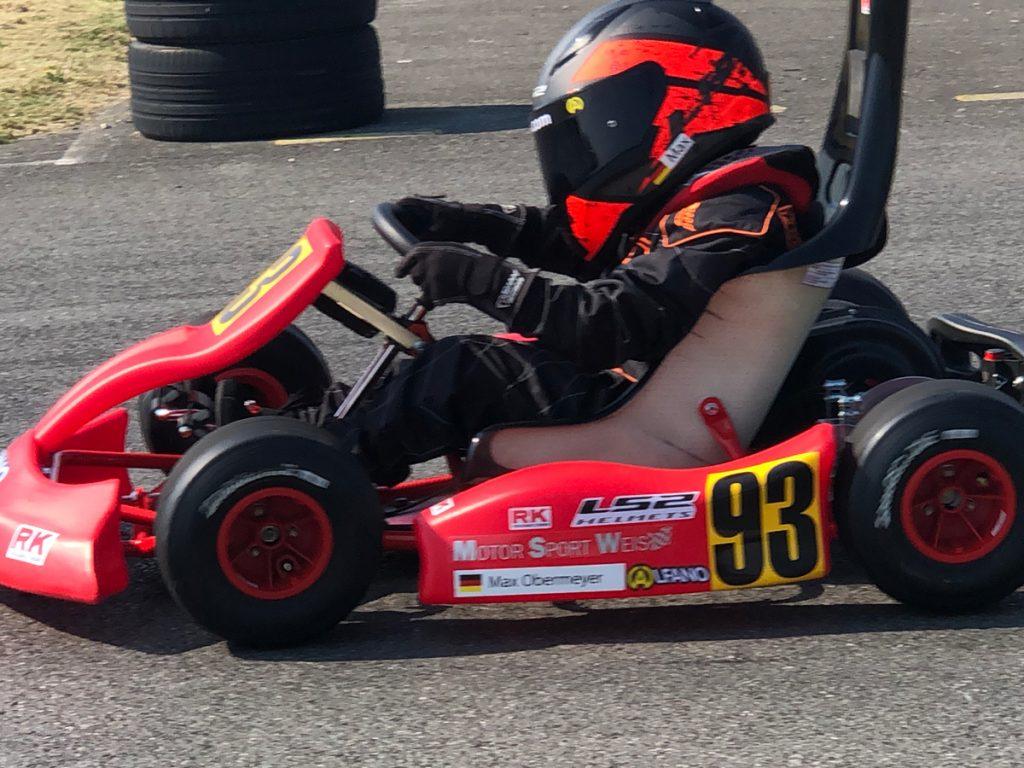 Max Obermeyer Kartsport D&M Motorsport Racing 15