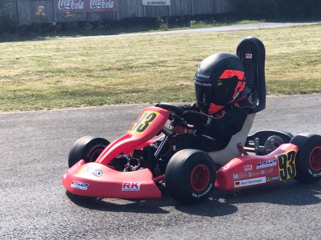 Max Obermeyer Kartsport D&M Motorsport Racing 11
