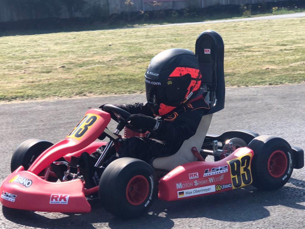 Max Obermeyer Kartsport D&M Motorsport Racing 10