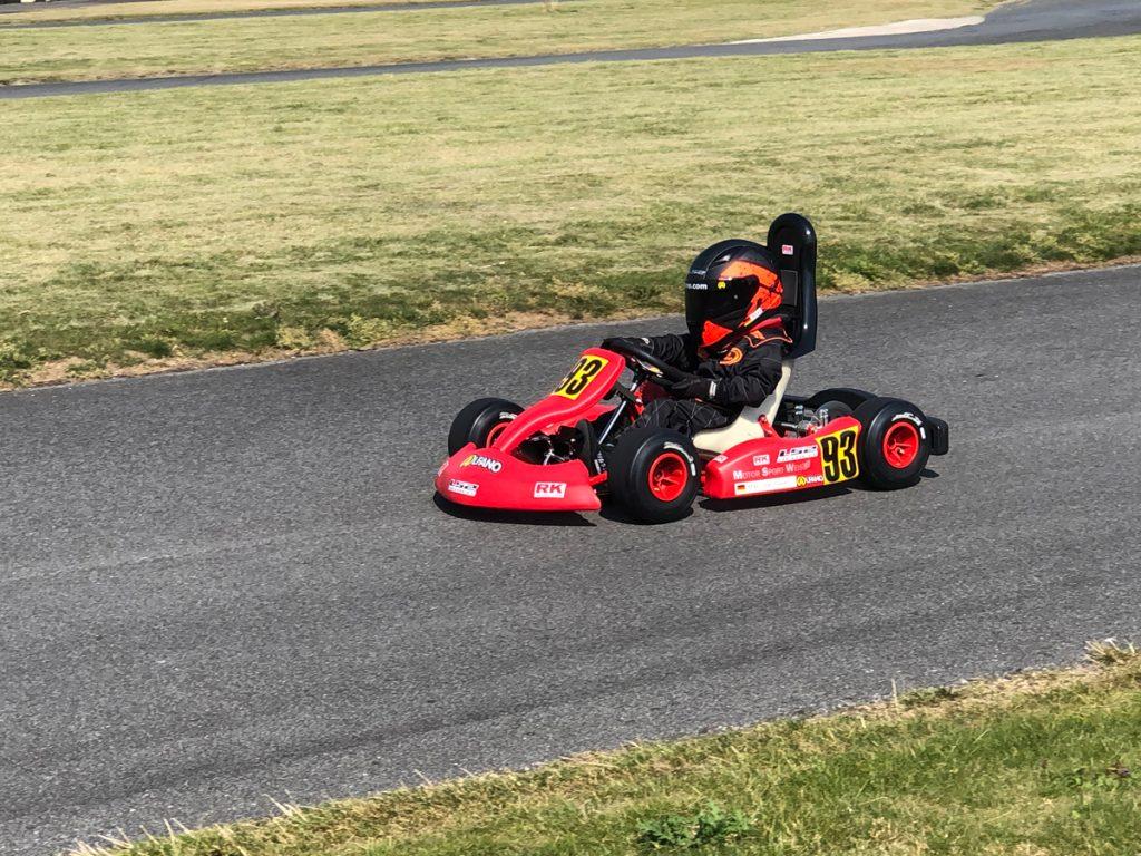 Max Obermeyer Kartsport D&M Motorsport Racing 9