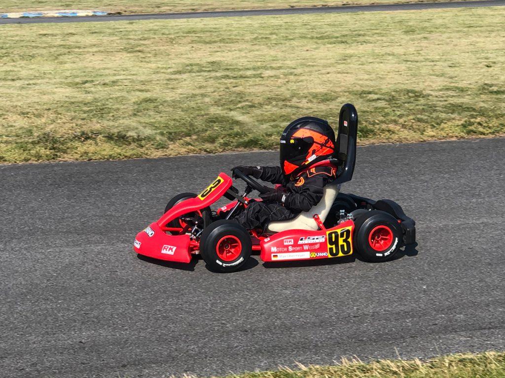 Max Obermeyer Kartsport D&M Motorsport Racing 8