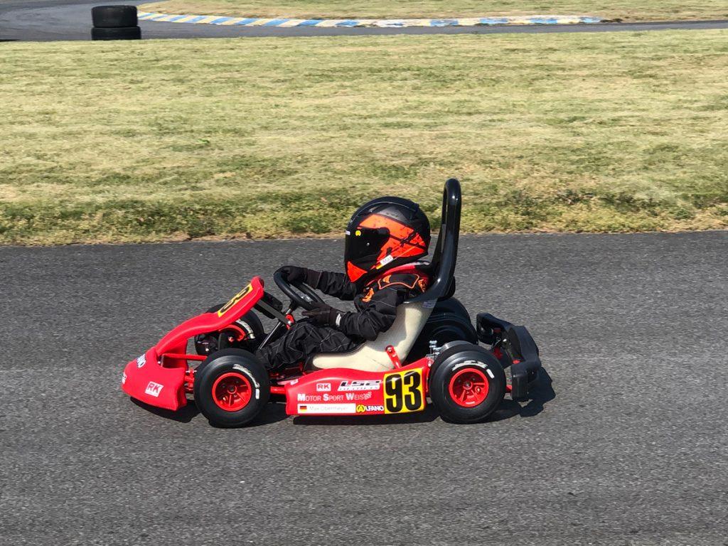 Max Obermeyer Kartsport D&M Motorsport Racing 7