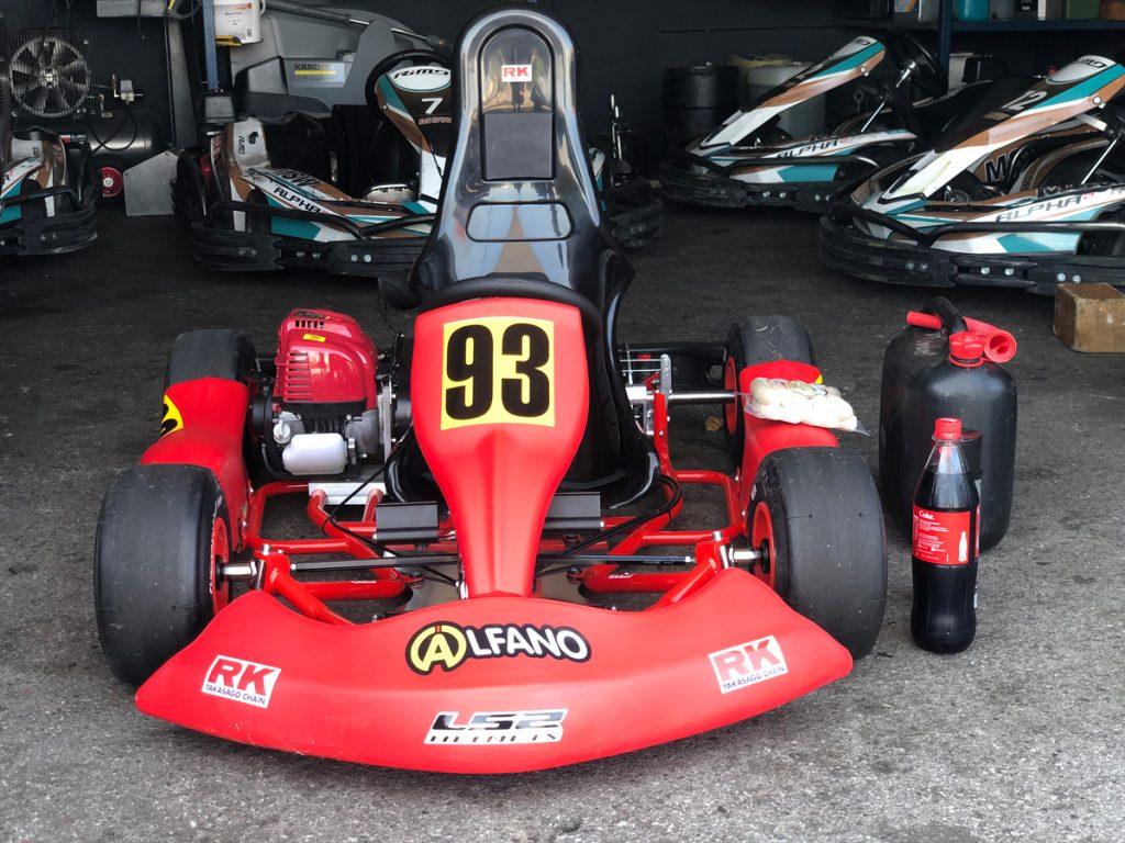 Max Obermeyer Kartsport D&M Motorsport Racing 3