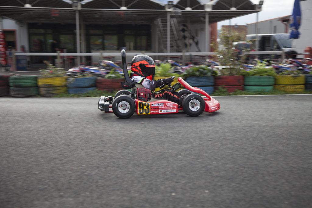 Max Obermeyer bei Kart 2000 in Kirchlengern
