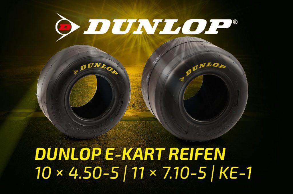 Dunlop E-Kart Reifen KE-1