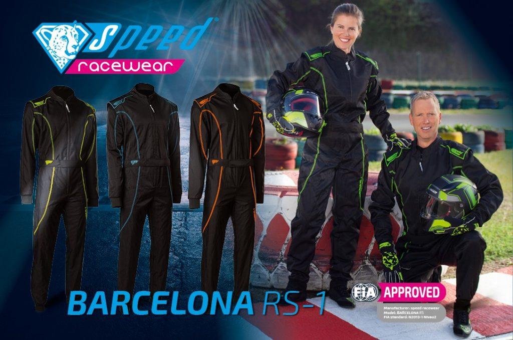 Kartoverall Barcelona RS 1