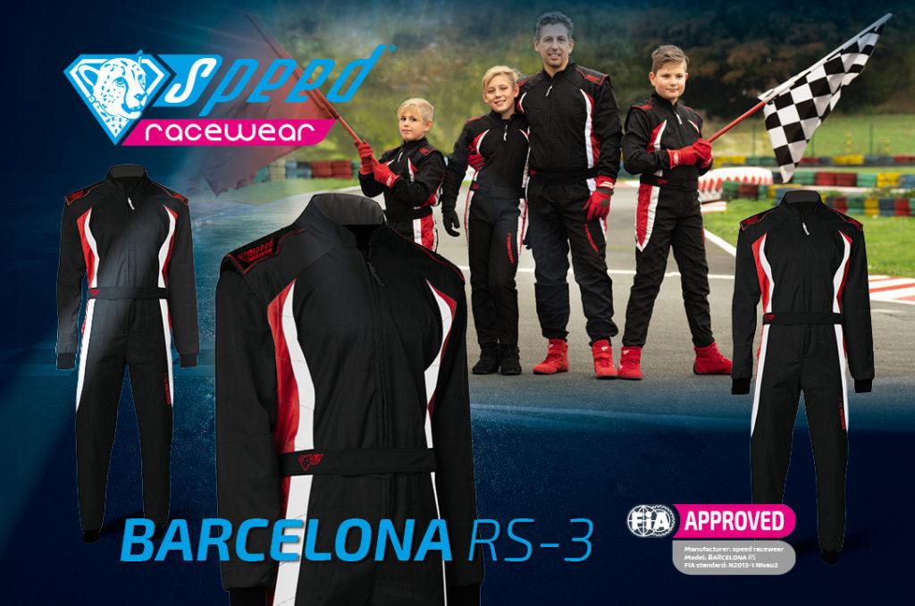 Kartoverall Barcelona RS 3