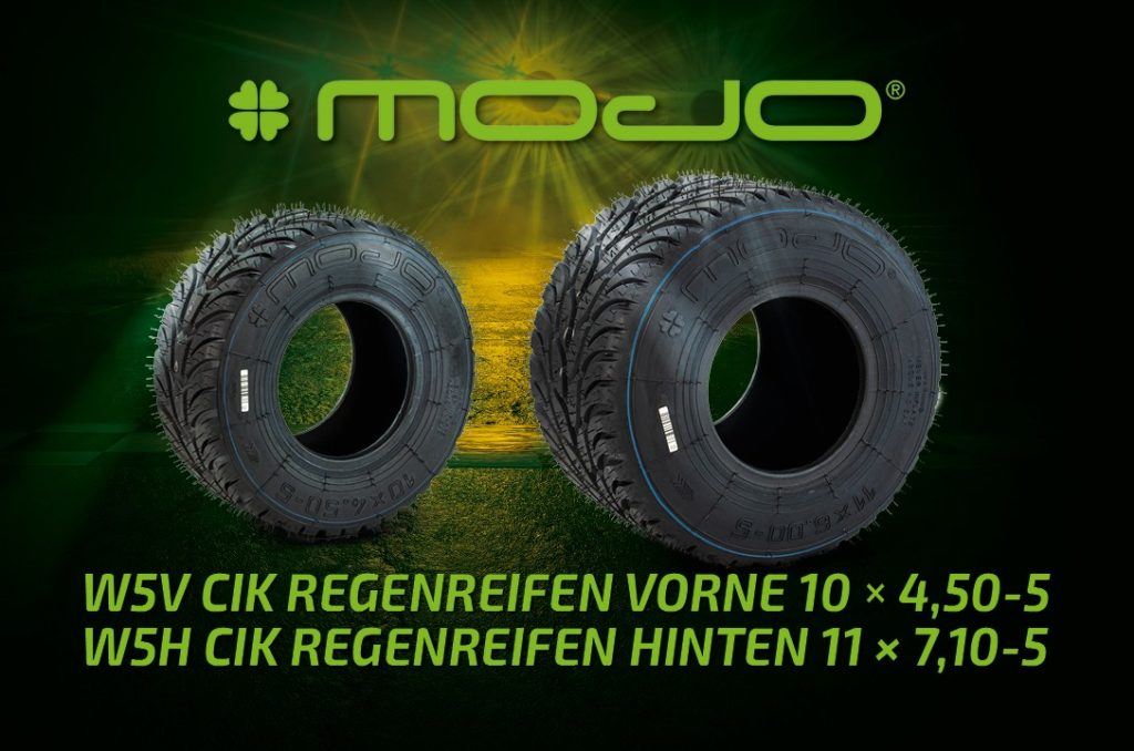 Kartreifen MOJO W5 CIK Regenreifen für Racing