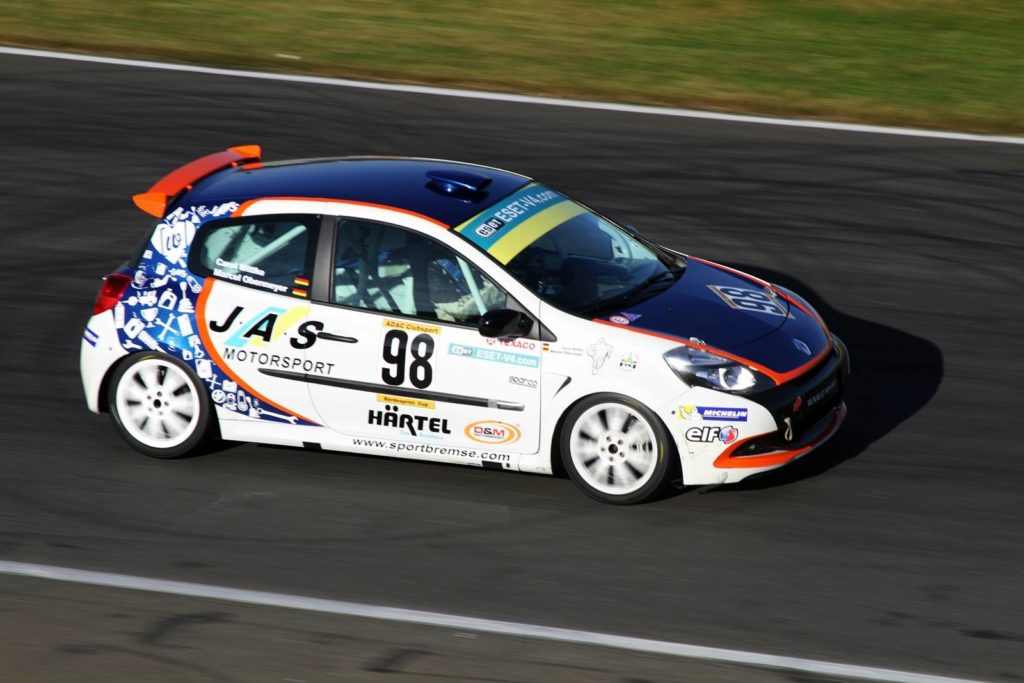 Marcel Obermeyer auf JAS Renault Clio Cup