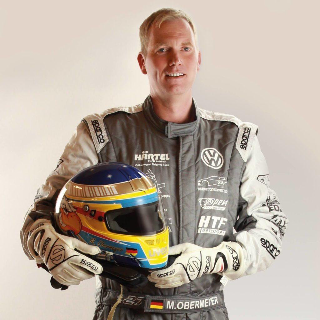 Rennfahrer Marcel Obermeyer