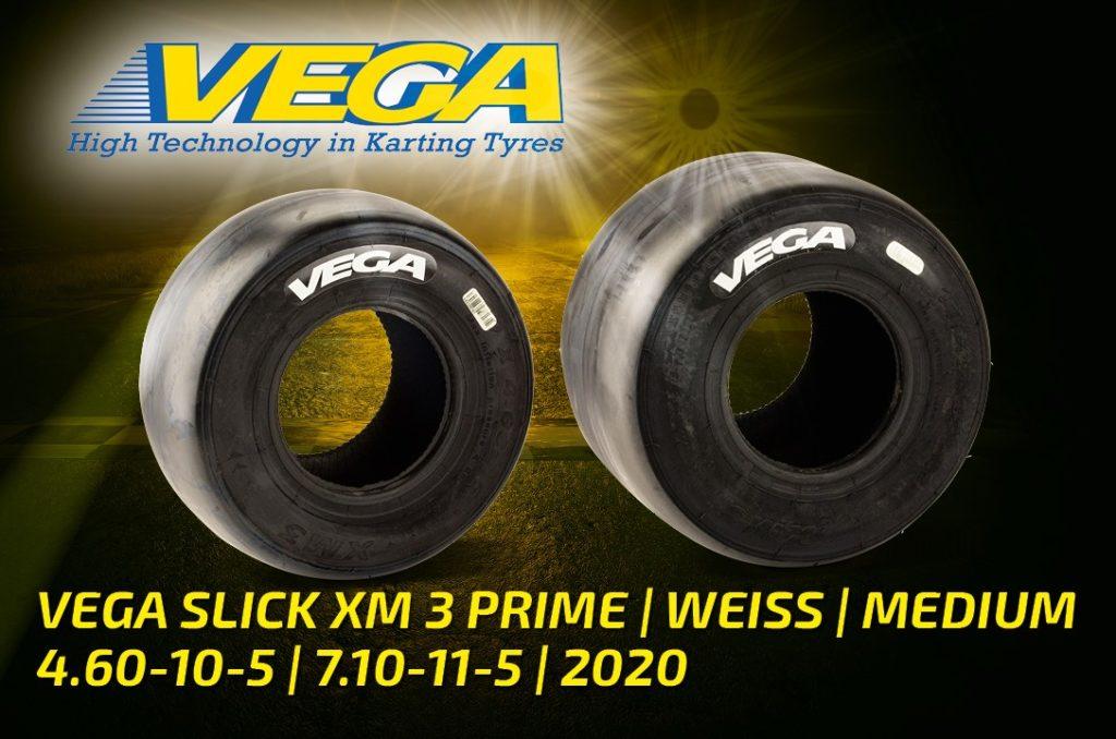 Vega Slick XM 3 Prime weiß medium