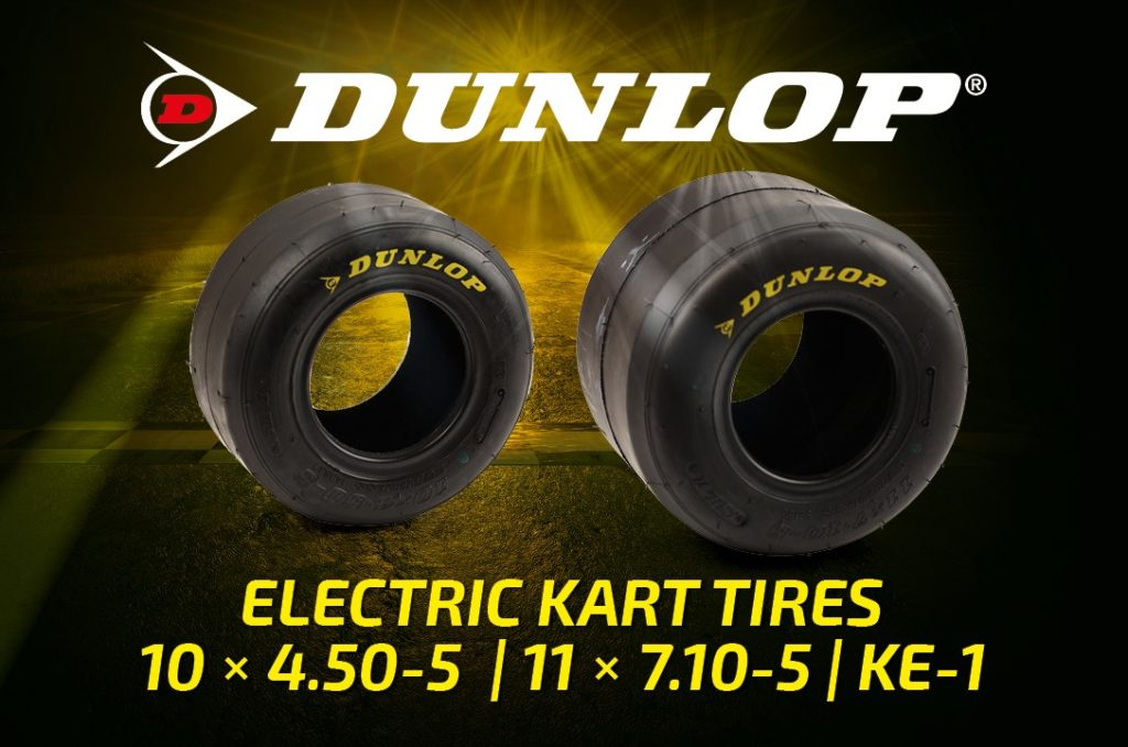 DUNLOP Kart Tyres KE-1 for electric kart