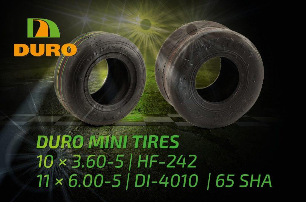 DURO Kart Tyres Mini and Bambini