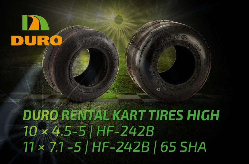 DURO Rental Kart Tyres High