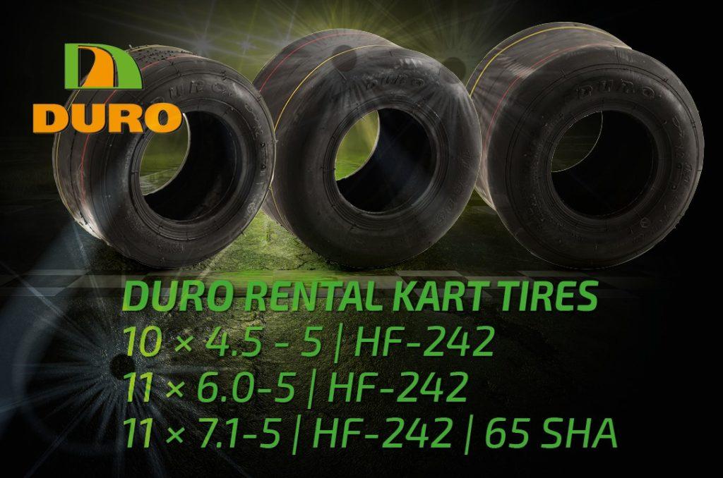 DURO Standard Rental Kart Tyres