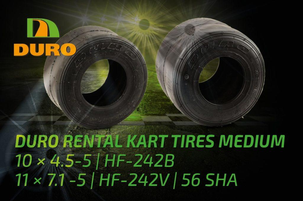 DURO Rental Kart Tyres Medium