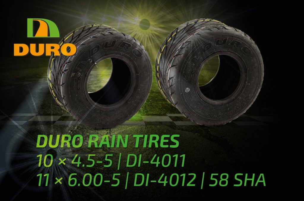 DURO Rental and Hobby Kart Tyres Rain/Wet