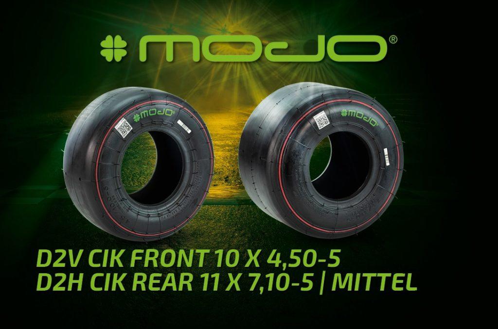 MOJO D2 CIK Slick Racing