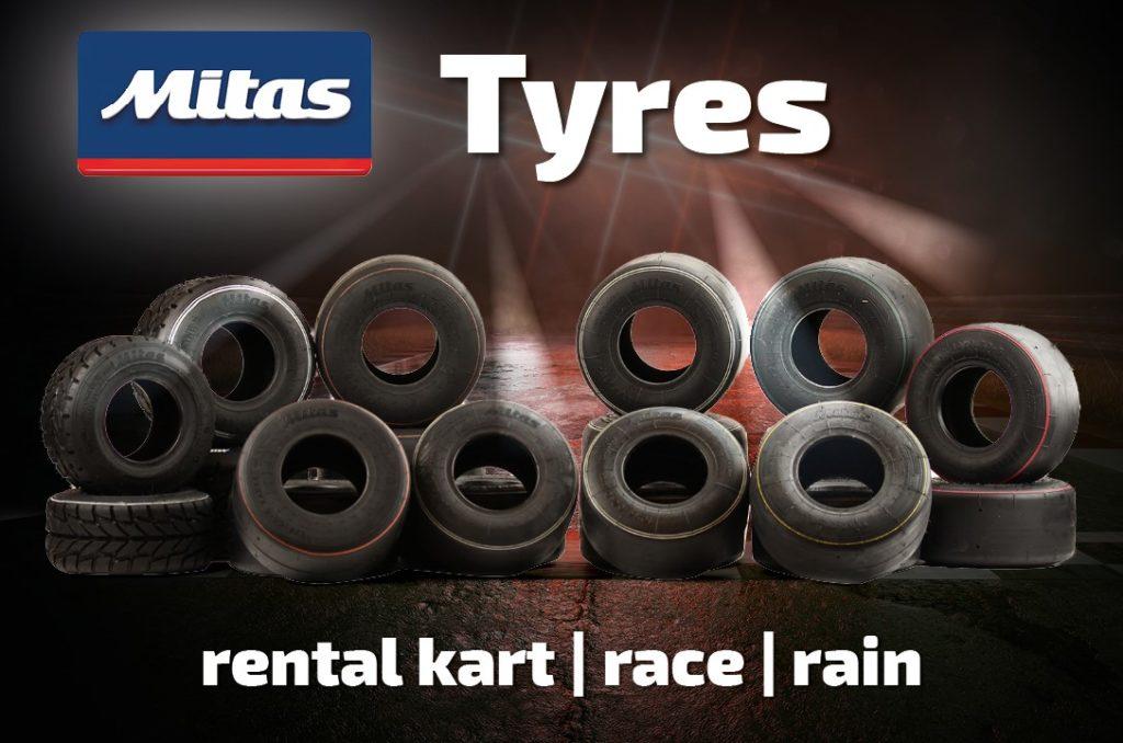 Mitas Kart Tyres