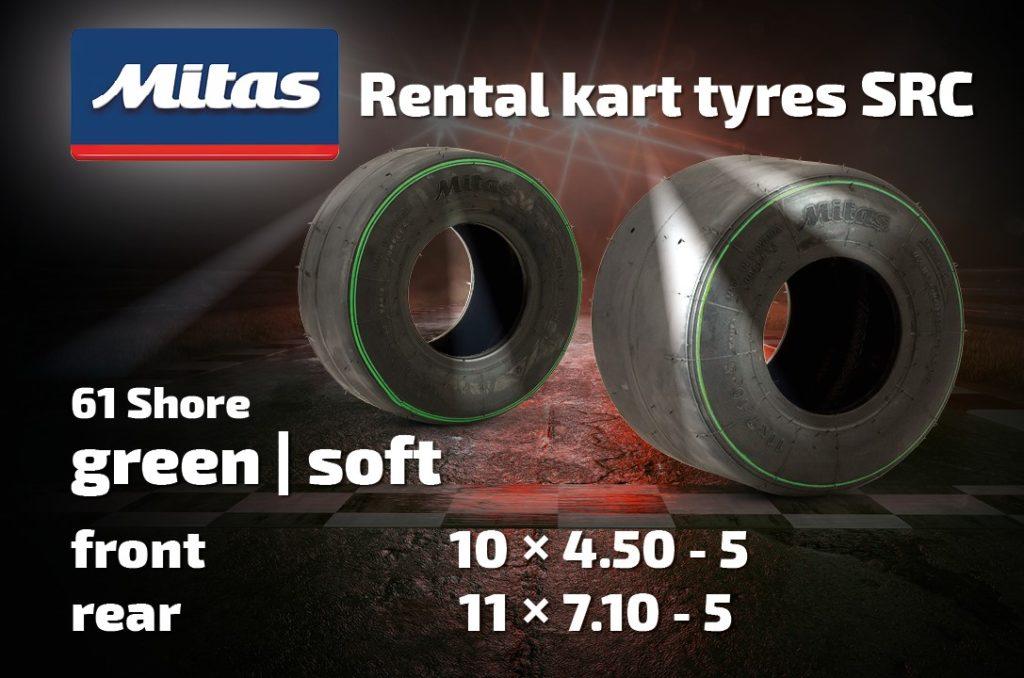 Mitas Kart Tyres SRC