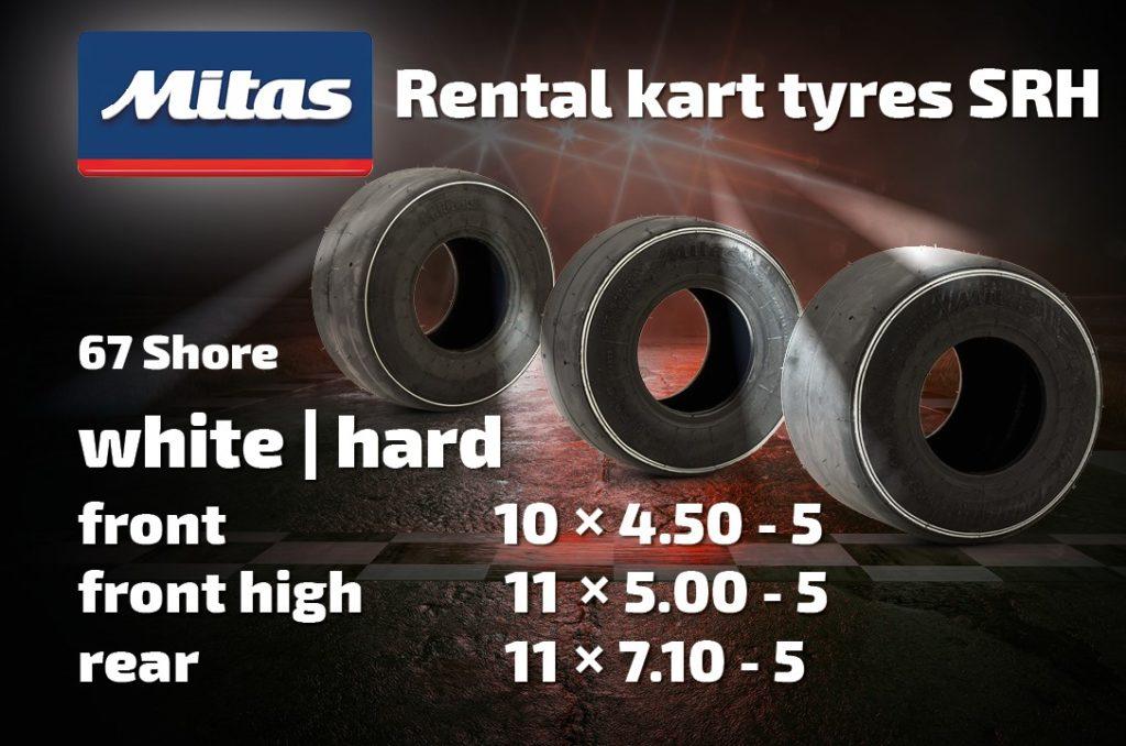 Mitas Kart Tyres SRH