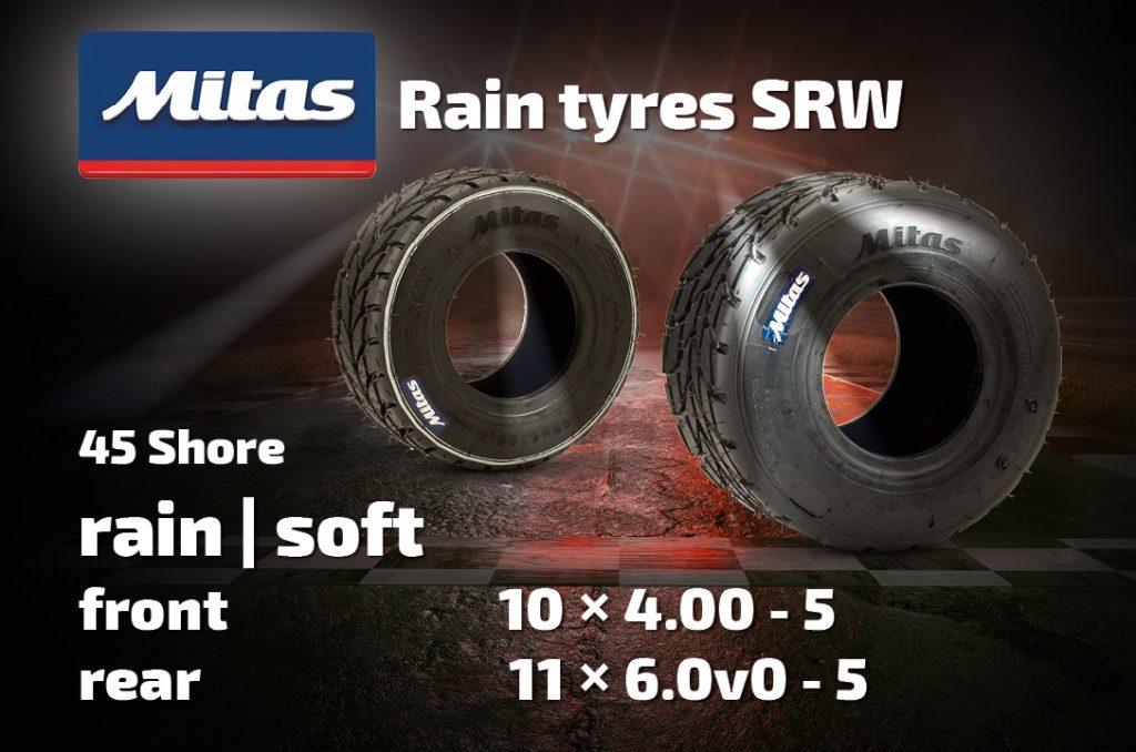 Mitas Kart Tyres SWW Rain
