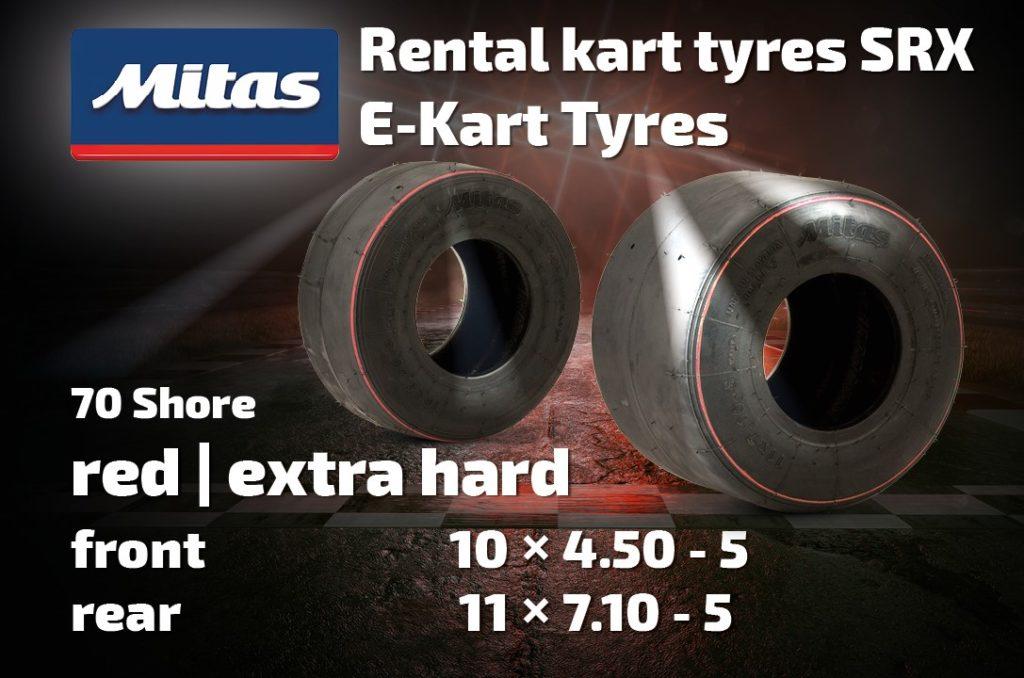 Mitas Kart Tyres SRX E-Kart