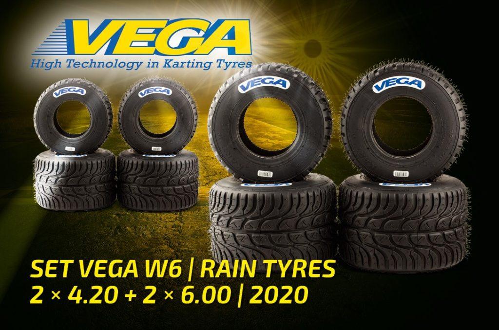 Vega Set Rain Tyres W6